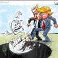 """التصريح الذي أطلقه دونالد ترامب في المؤتمر الصحفي المشترك مع نتانياهو والذي قال فيه """"أنظر إلى حل الدولتين وحل الدولة الواحدة وأميل إلى ما يميل إليه الطرفان"""" لم يربك نتانياهو..."""